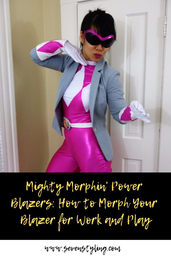 Mighty Morphin' Power Blazers: How To Morph Your Blazer for Work and Play