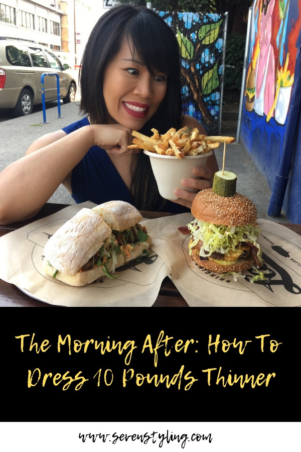 The Morning After: How To Dress 10 Pounds Thinner