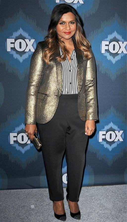 Mindy Kaling in a Tuxedo Jacket