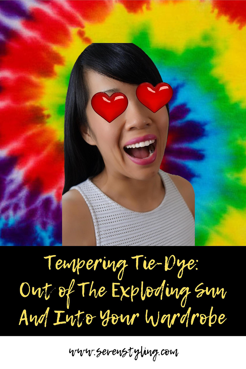 Tempering Tie-Dye: Out of the exlpoding sun and into your wardrobe