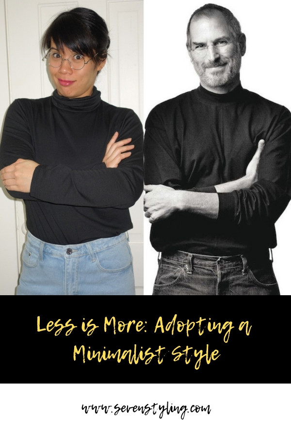 Less Is More: Adopting A Minimalist Style