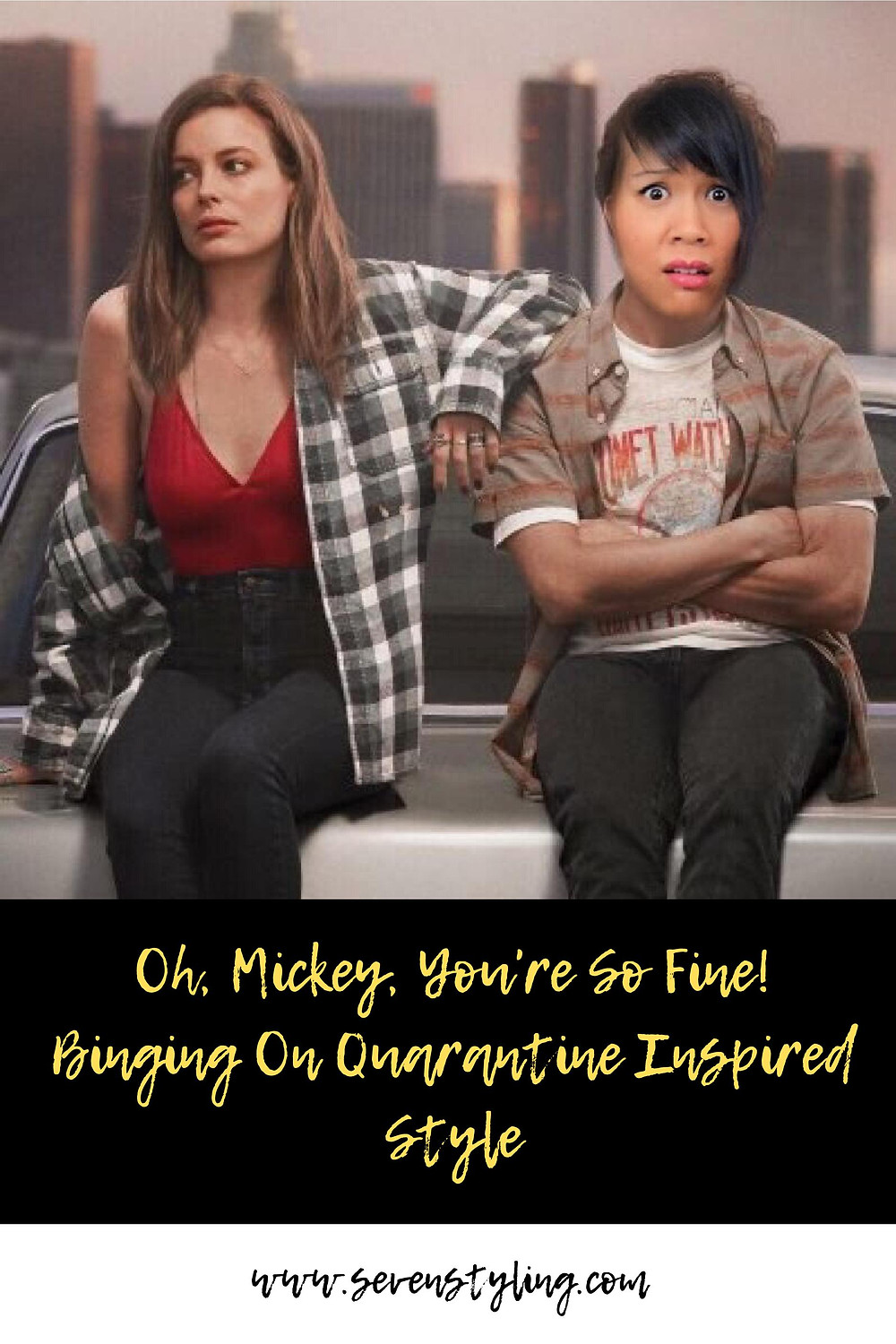 Oh Mickey You're So Fine: Binging On Quarantine Inspired Style