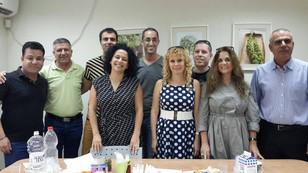 ישיבת הנהלת האיגוד בעמק יזרעאל