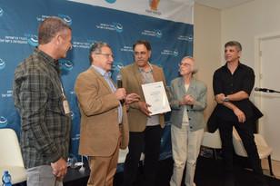 פרס העיתונאי המצטיין בישראל הוענק לניסים קינן כתב ומגיש כאן- תאגיד השידור הציבורי