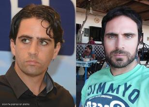 תמיר סטיינמן ואלמוג בוקר - הזוכים בפרס העיתונאים המצטיינים בישראל
