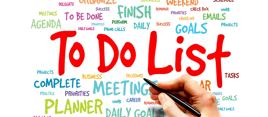 Let's talk about…….taming your To-Do List