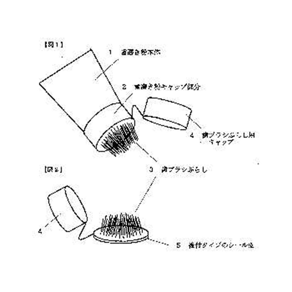 【歯ブラシ特許 30】歯ブラシぶらし付き歯磨き粉