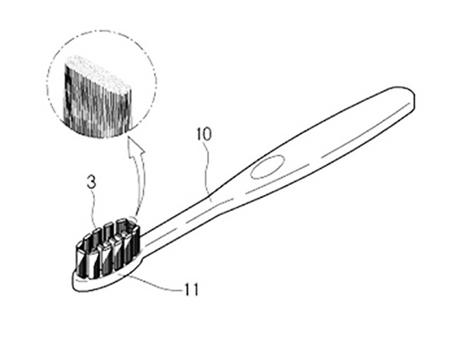 【歯ブラシ特許92】O字型ハブラシ
