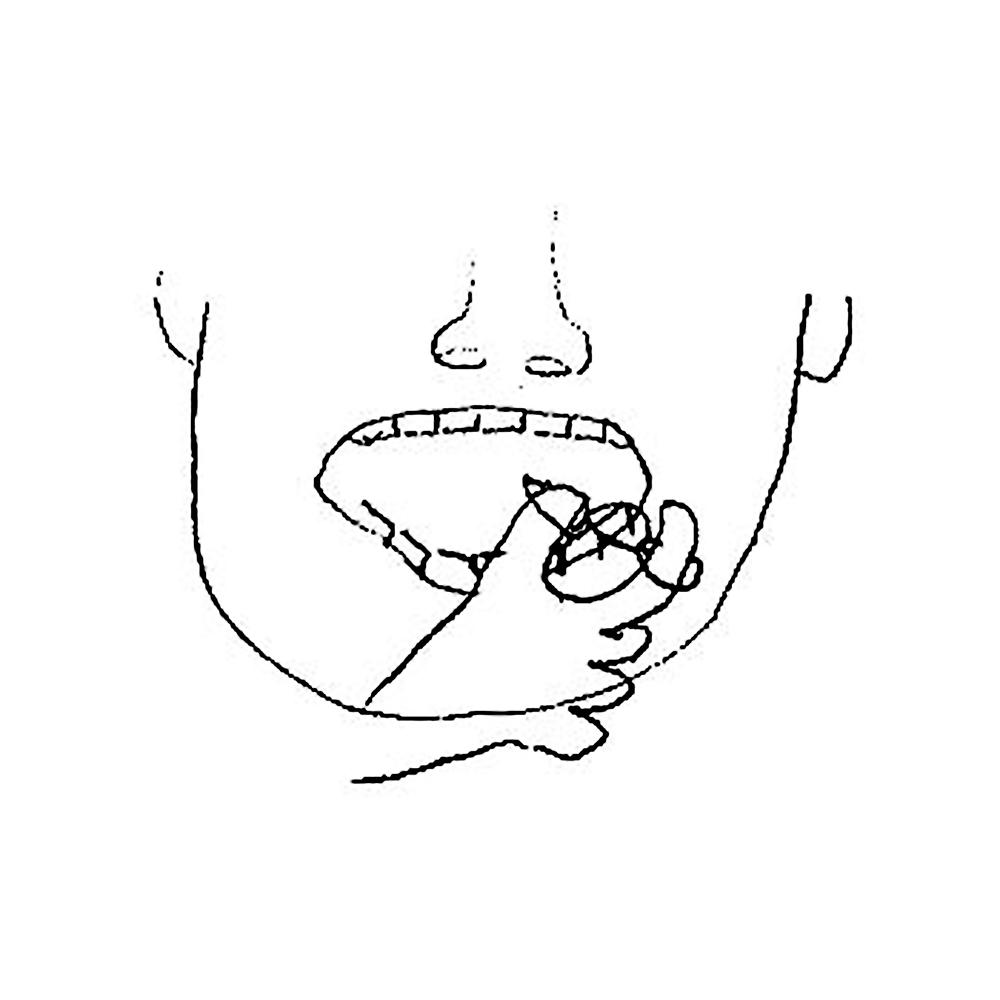 【歯ブラシ特許 45】あやとりフロス
