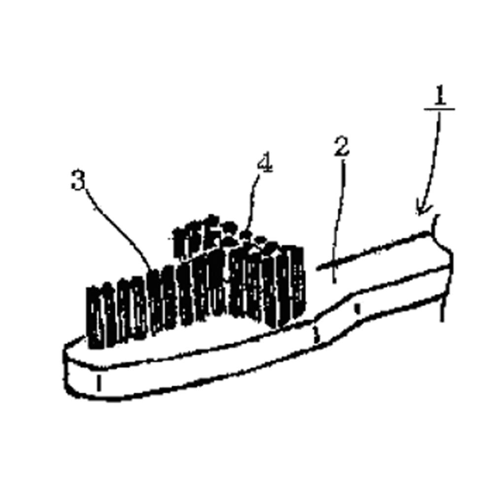 【歯ブラシ特許 17】T字型ハブラシ