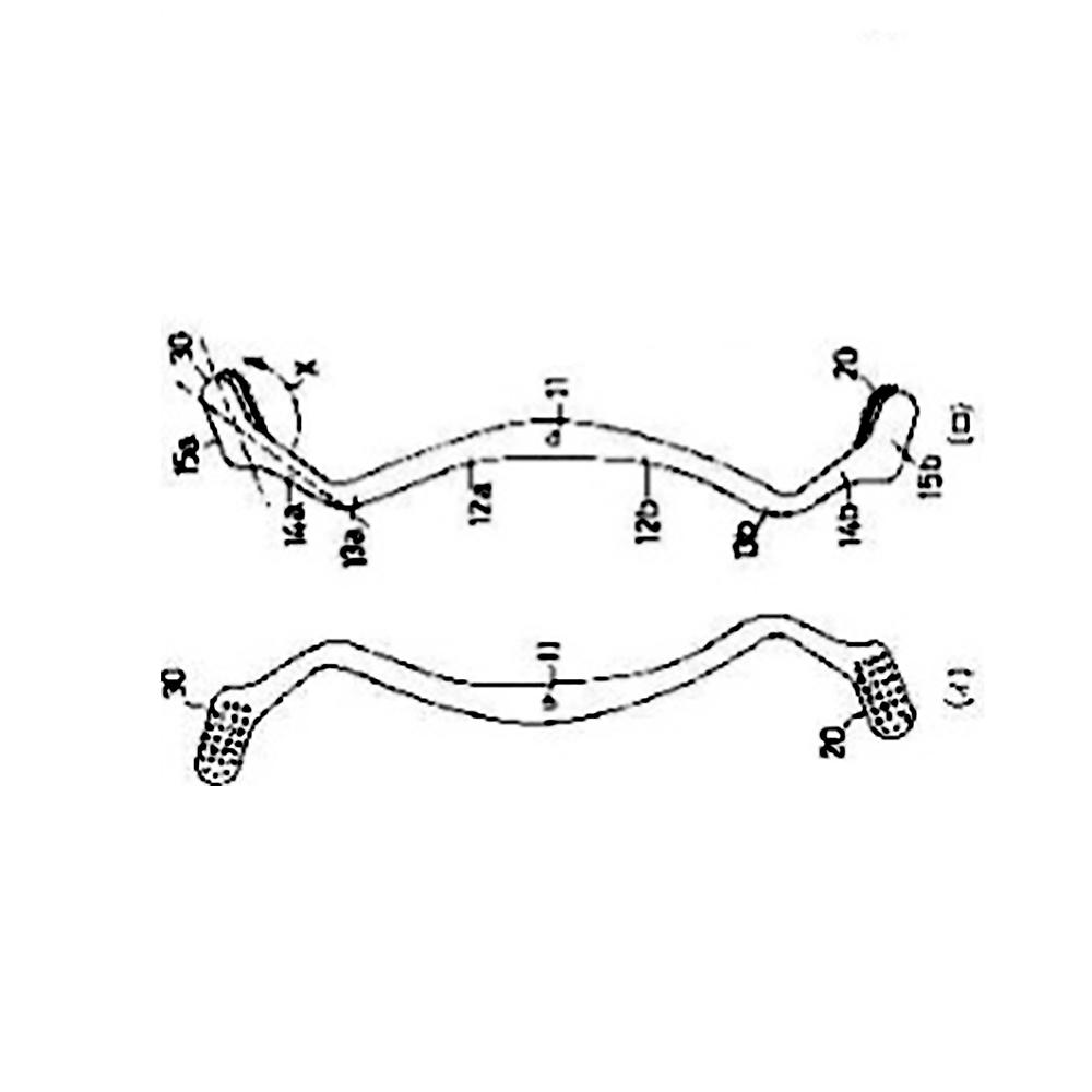 【歯ブラシ特許 31】W字型ハブラシ