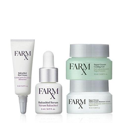 Farm Rx Vegan Skin Care [TRIAL PACK]