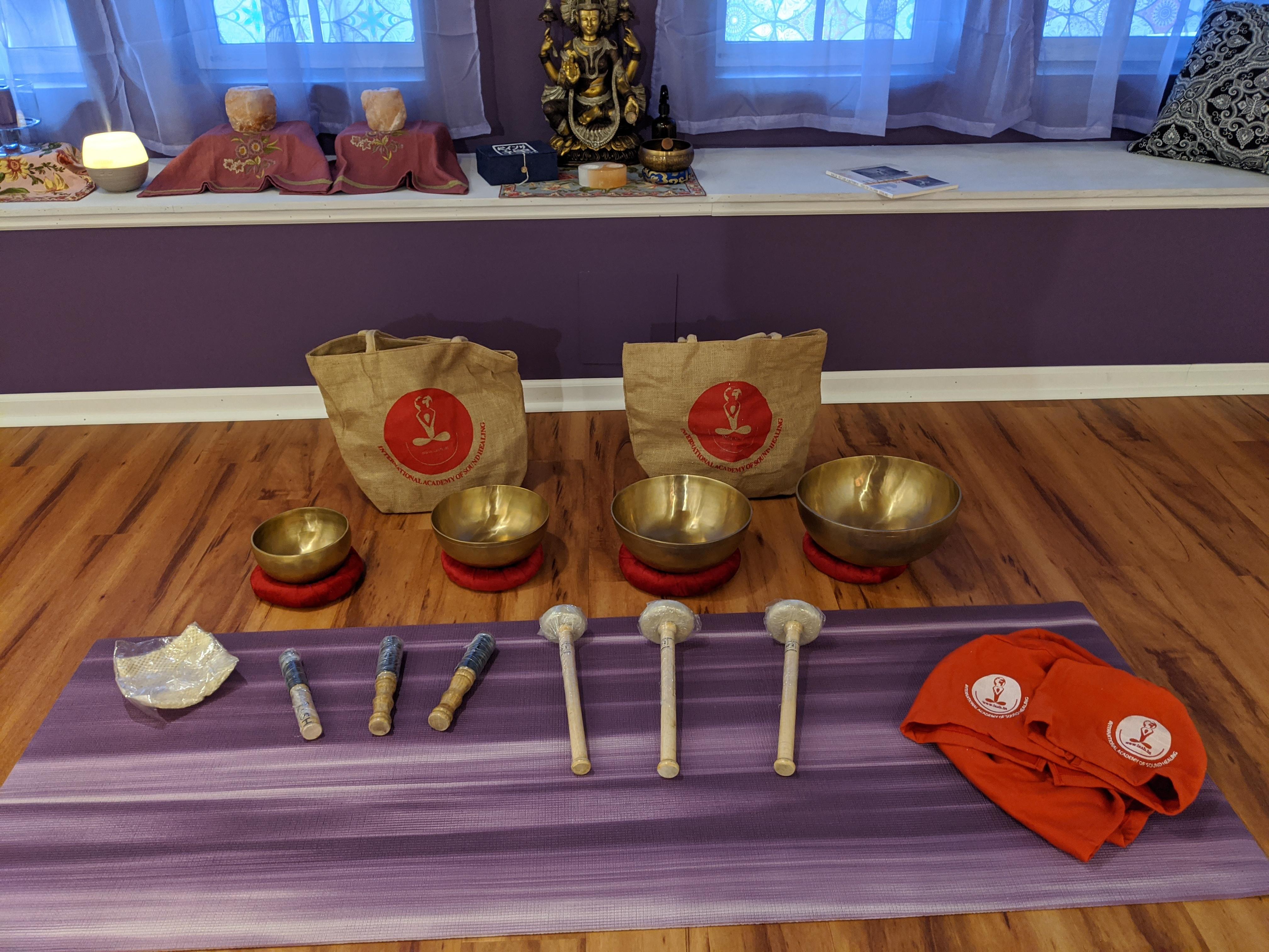 Sound Healing Meditation w/Selenite
