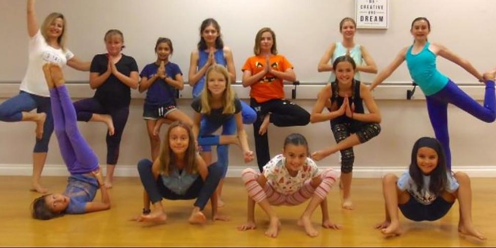 Tweenz Yoga Dance!