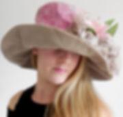 HEBE chapeau cérémonie site www.creationsmode.com