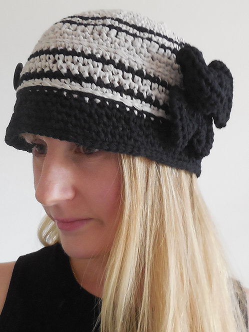 CHAPEAU CLOCHE BLACKY