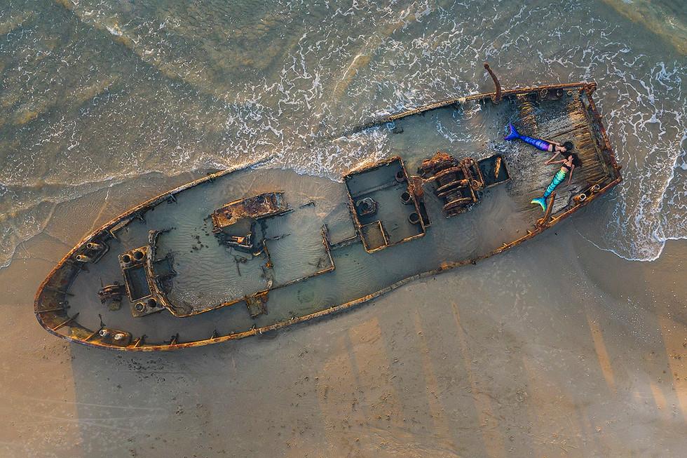 Mermaids on Habonim - drone - 26.09.2019