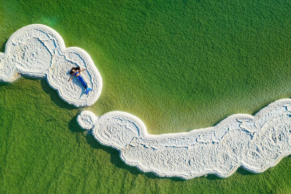 Mermaid Mor  in the Dead Sea 14.01.2020-