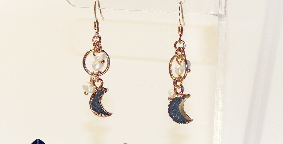 Celestial Druzy Earrings