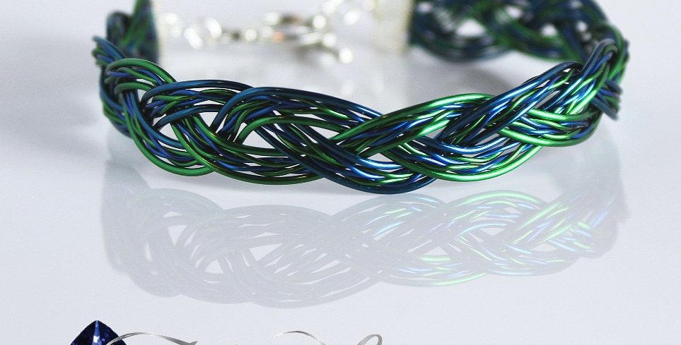Twisted Wire Braided Bracelet