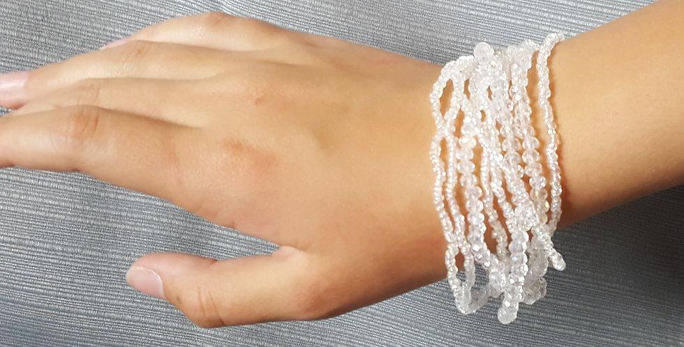 Clear Multi-strand Bracelet