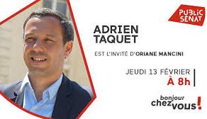Adrien TAQUET sur LCP