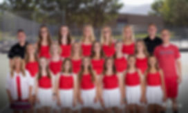 North Sanpete Girls Tennis Team