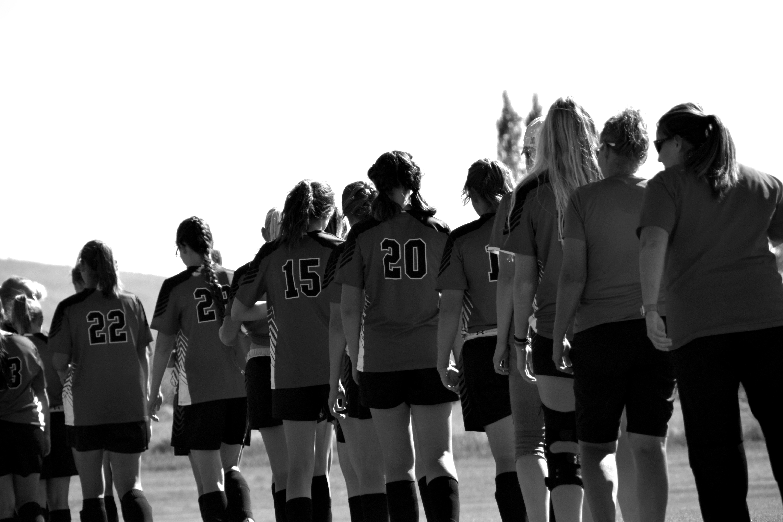 Girls Soccer Lineup