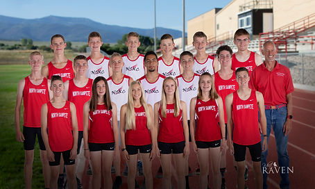 North Sanpete Cross Country Team