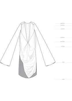 Luxury Sustainable Fashion Designer  - Technical File