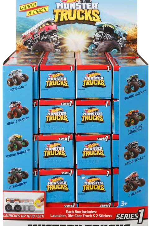 Hot Wheels Monster Truck Blind Boxes - Assorted