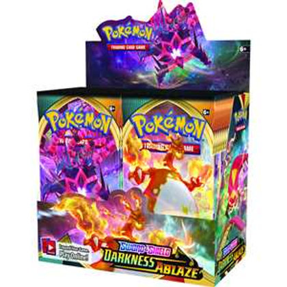 Pokemon - Sword & Shield 3: Darkness Ablaze Boosters, Sold Singularly