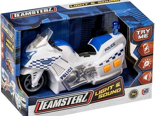 Teamsterz Light & Sound Police Motorbike
