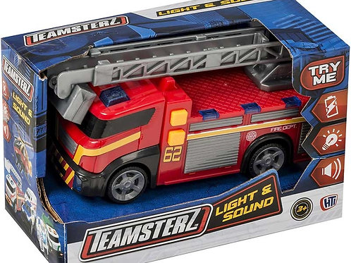 Teamsterz Light & Sound Fire Engine
