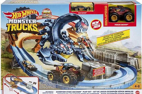 Hot Wheels Monster Truck Scorpion Play Set