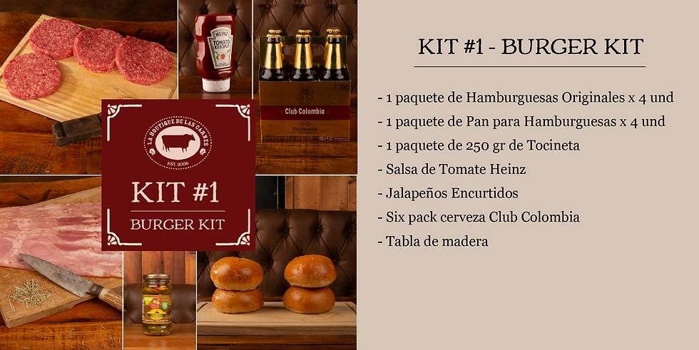 Kit 1 - Burger Kit