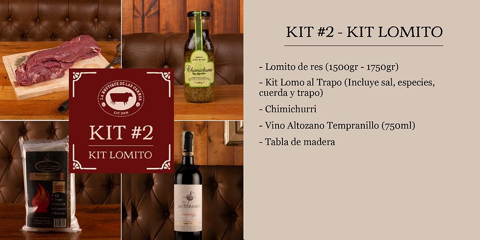 Kit 2 - Kit Lomito