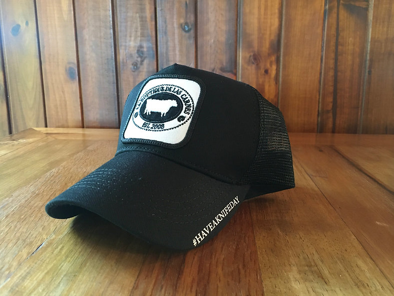 Butcher Hat Negra/Blanca