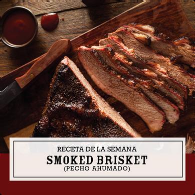 Receta Smoked Briskett