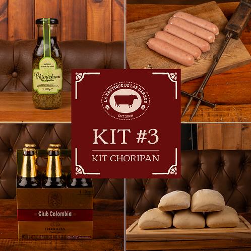 Kit 3 - Kit Choripan
