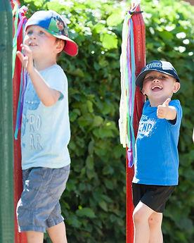 Pre-school outdoor play