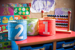 Numeracy is part of nursery life