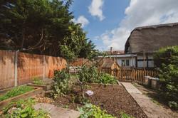 Ridgemount Cottage Nursery kitchen garden