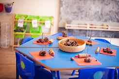Sensory play at nursery