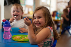 Lunchtime at nursery