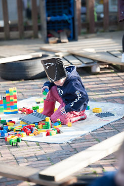 Child-led play in pre-school