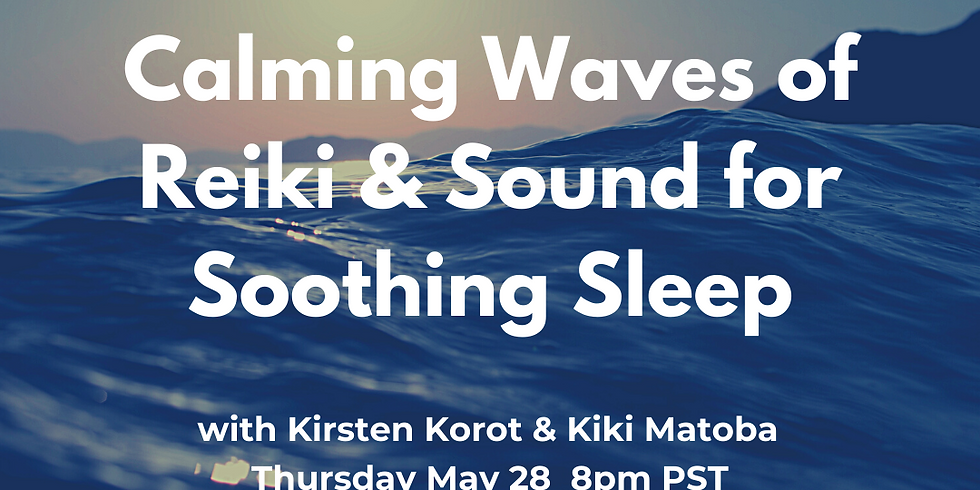 Calming Waves of Reiki & Sound for Soothing Sleep