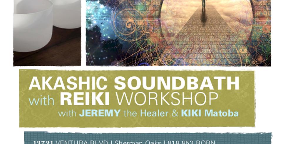 Akashic Soundbath with Reiki Workshop