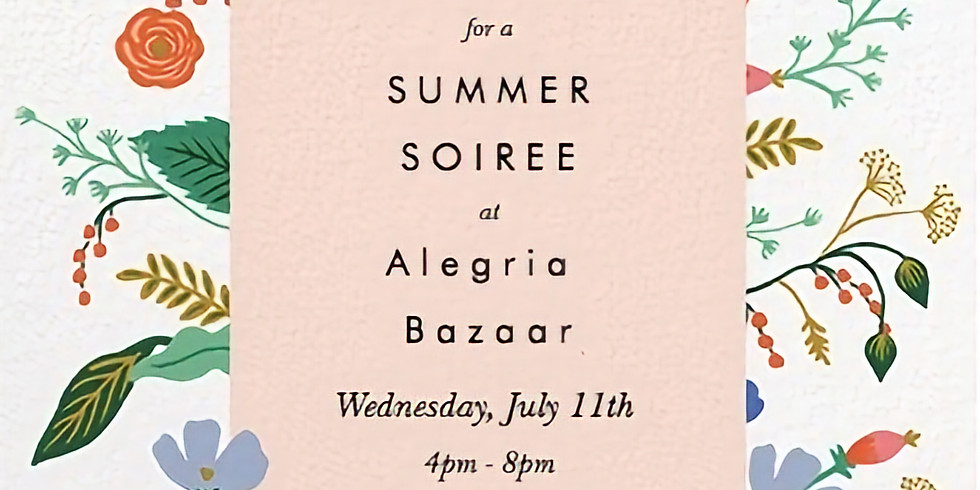 Summer Soiree with Beauty counter