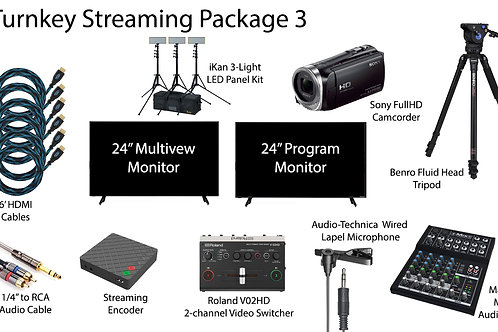Turnkey Streaming Package 3